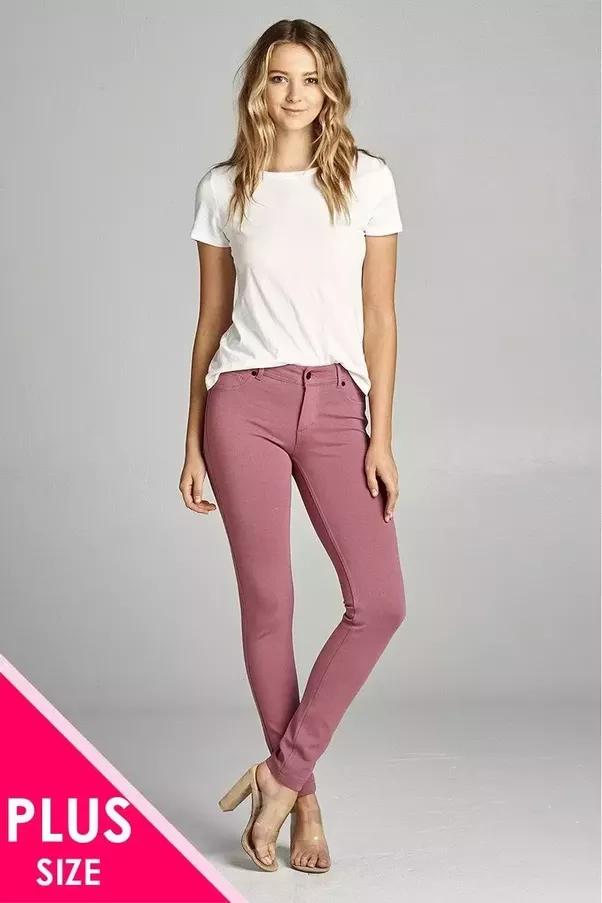 What colour jeans match a purple shirt? - Quora