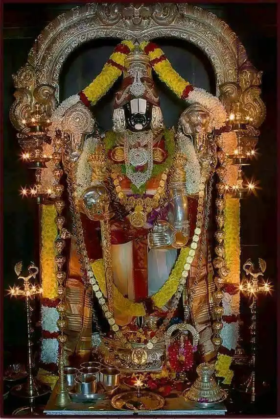 When was Lord Venkateswara born? - Quora