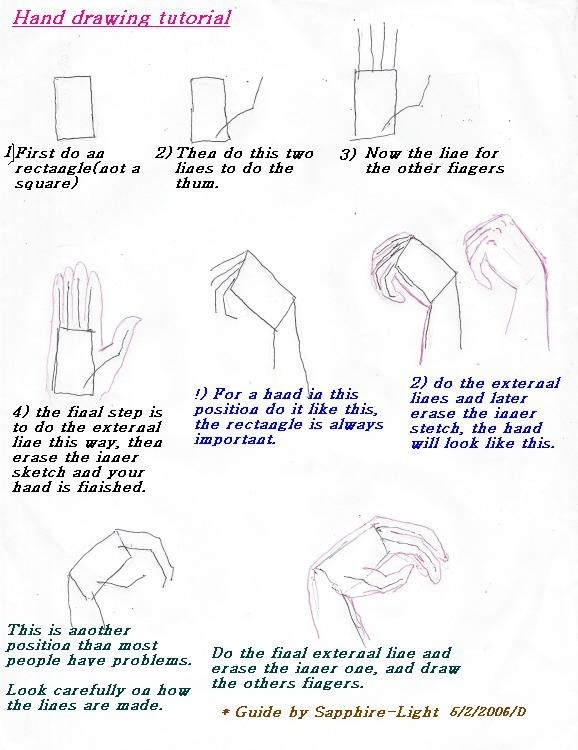 what is the best way to draw hands quora