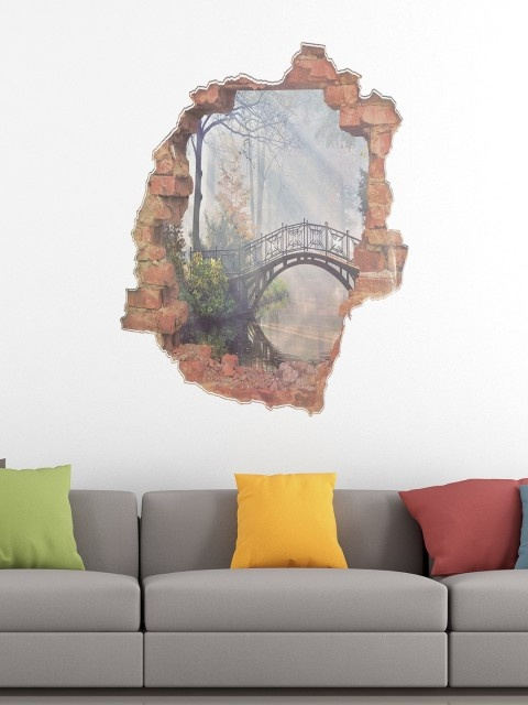 In The Incredible Range Of 3D Wall Stickers That Myntra Has Online, There  Are So Many Themes Such As Floral And Botanical, Cartoon Characters To  Choose From ...
