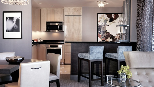 The Sake Suite At Nobu Inside Caesars Palace And The Wraparound Terrace  Suite At The Cosmopolitan Also Have Kitchens.