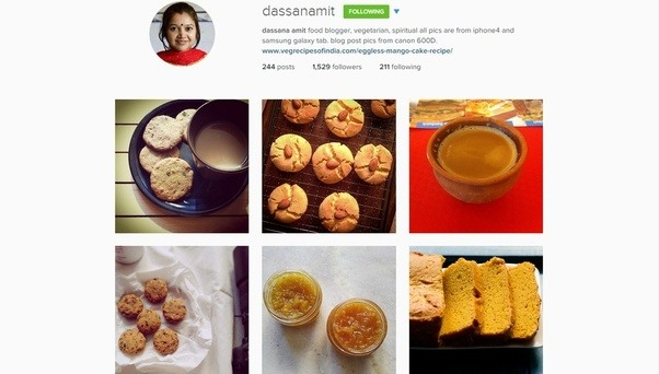 What are some of the best indian instagram accounts quora the account is managed by dassana amita food blogger who captures all her pictures through i phone and a mobile tablet check out her recipe blog here forumfinder Image collections