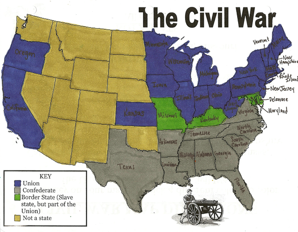what 2 sides were involved in the american civil war quora