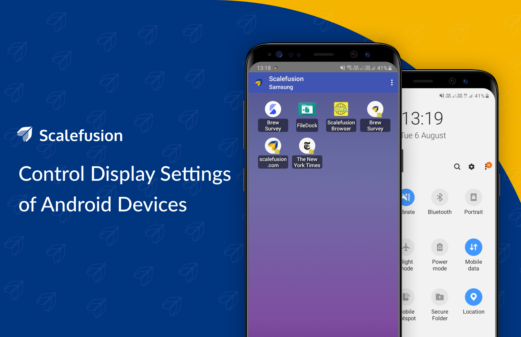 How to control which icons are displayed at the top status