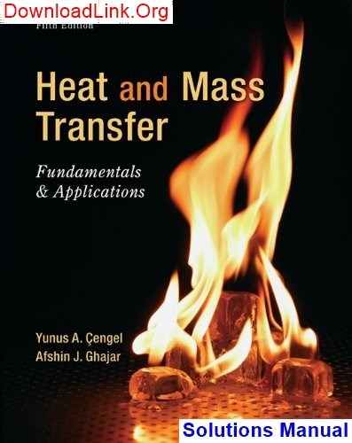 How To Download Solution Manual For Heat And Mass Transfer