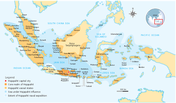 Was there an historic state approximating to modern indonesia quora at its greatest extent during the reign of hayam wuruk 13501389 the territory of majapahit and its vassal states stretched from modern day aceh to the publicscrutiny Choice Image