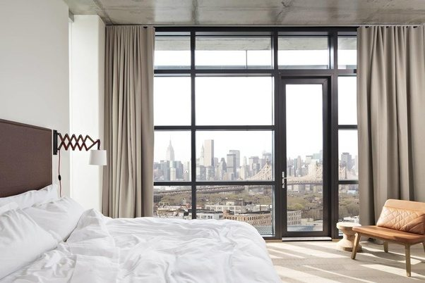 which hotel in new york city manhattan area has the best view of
