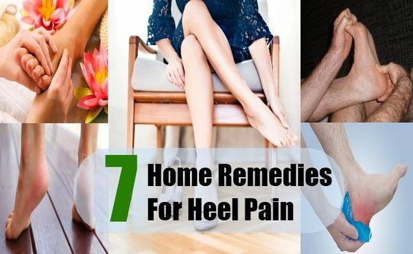 heel pain treatment home remedies