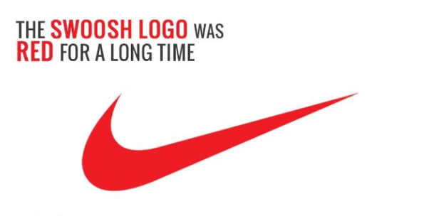 watch df01c ec6f3 Later, the company changed the color scheme of its  Swoosh  logo to make it  sleek and classy. Now, What it means