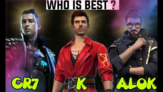 Who Is The Best Character In Free Fire Dj Alok K Or Chrono Quora