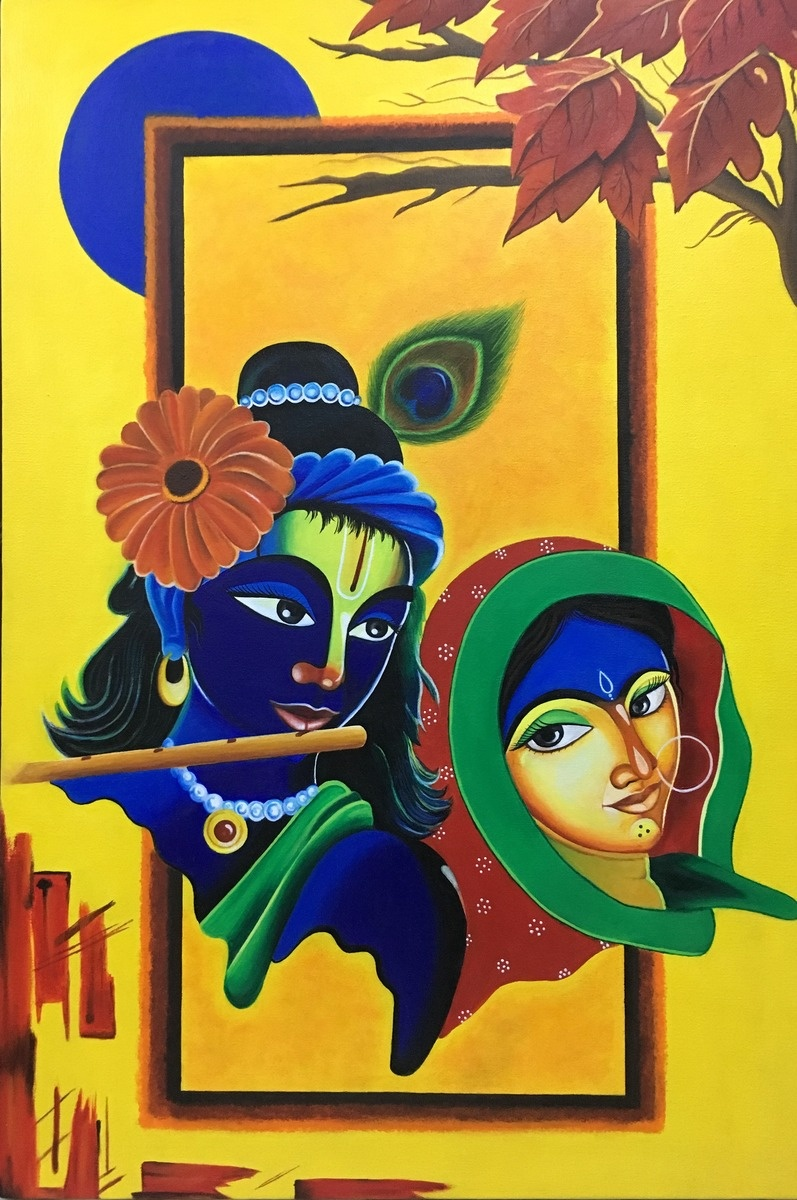 What are the best paintings of lord krishna? - Quora
