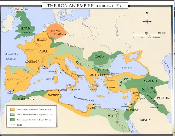 What was the dominant civilizationcivilisation at every point in