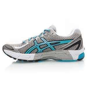 This is an older GT-2170 by Asics (great shoe by the way). That gray  section (medial post) is a high density EVA foam that is only found on the  medial side ...