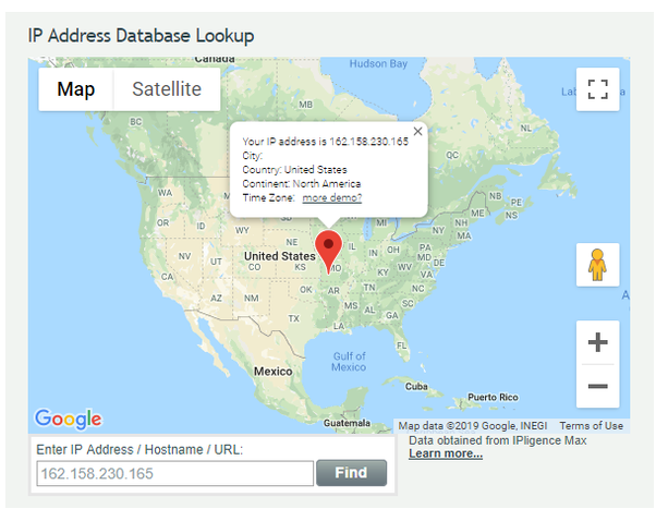 Which is the most accurate IP geolocation service? - Quora