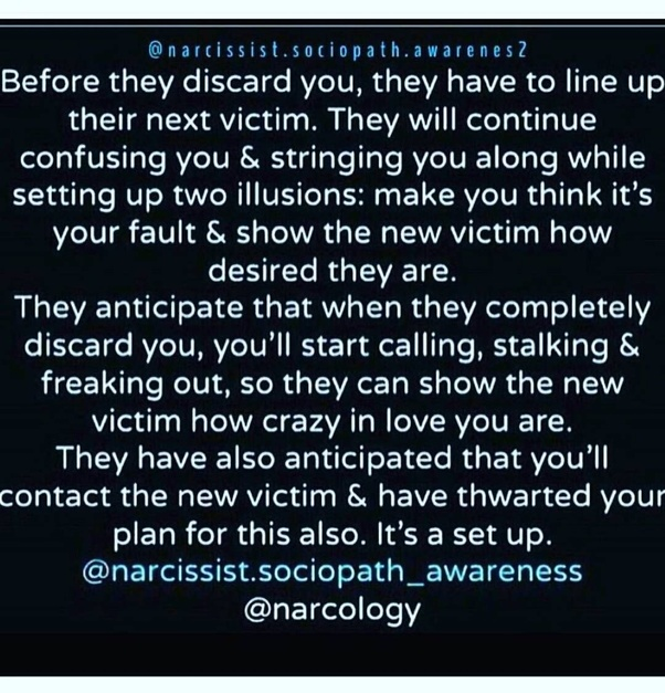 If a narcissist is expecting a negative reaction from a