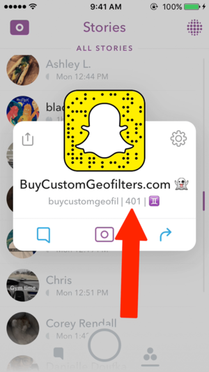 how to make a story on snapchat