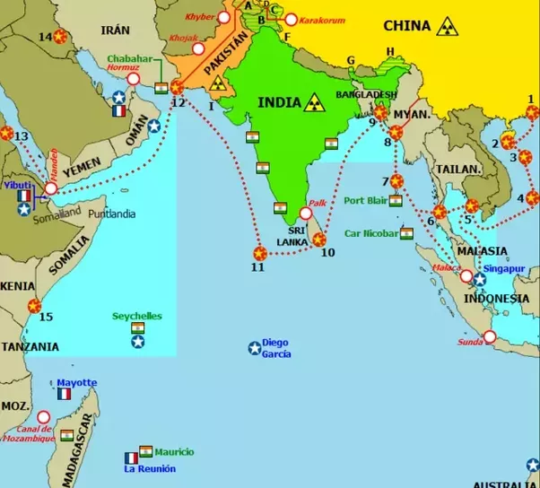 What if India claimed the Indian Ocean like China claimed the South