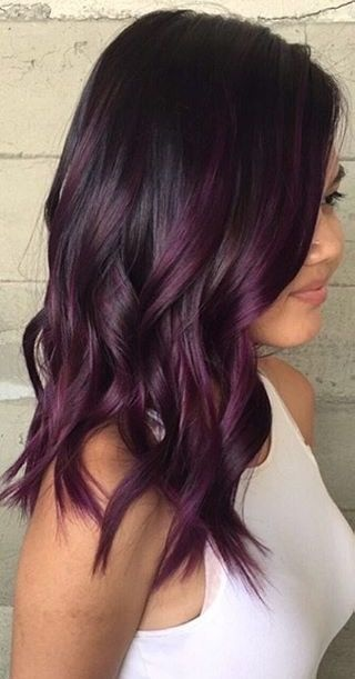 How To Dye Black Hair Purple Without Bleach Quora