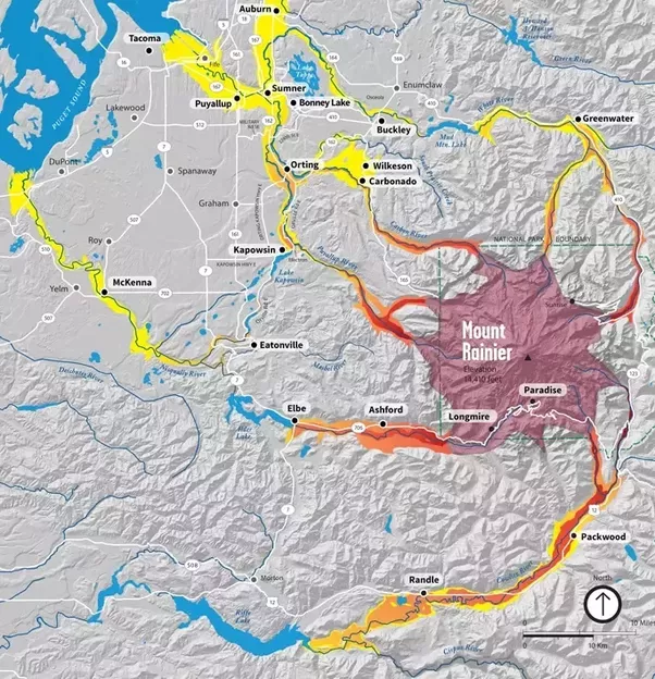 What would the impact be on Seattle if Mt. Rainier erupted? - Quora