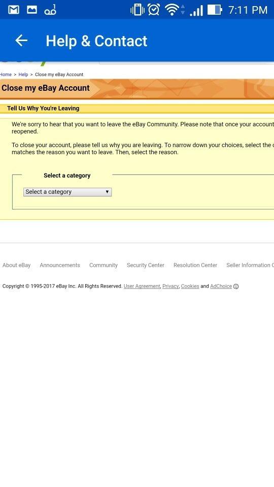 How to effectively delete my eBay account - Quora