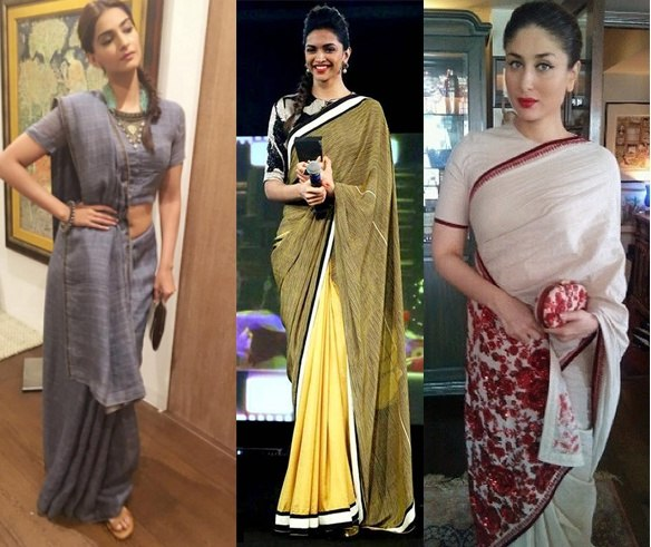 e279a17e4a8 They are in vogue and keep the wearer cool and comfortable. Even our  favorite actresses are spotted flaunting cotton sarees these days.