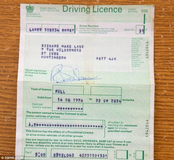Are Paper Driving Licences Still Valid In The UK?