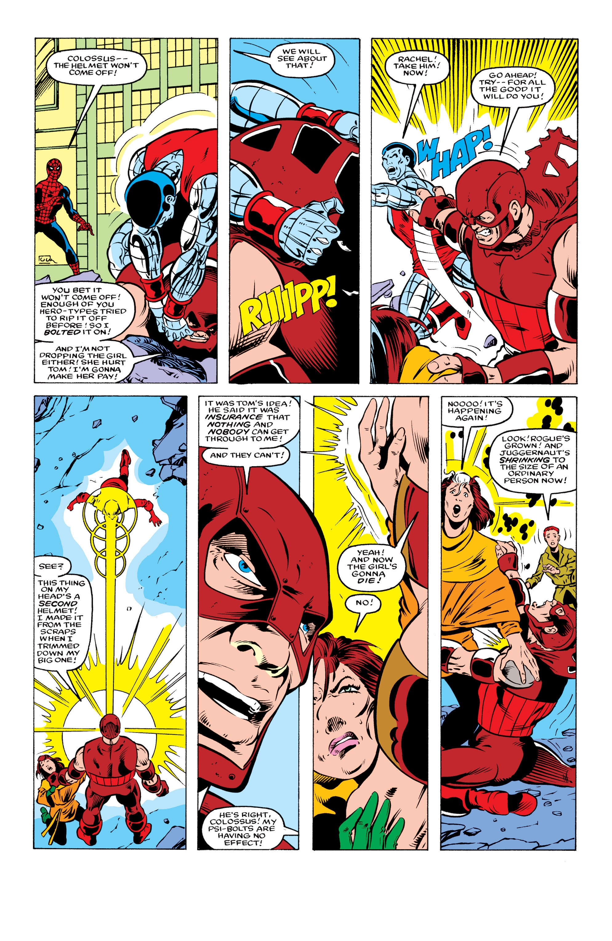What would happen if Rogue touched Juggernaut? - Quora