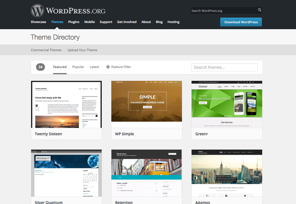 How to download free WordPress themes - Quora