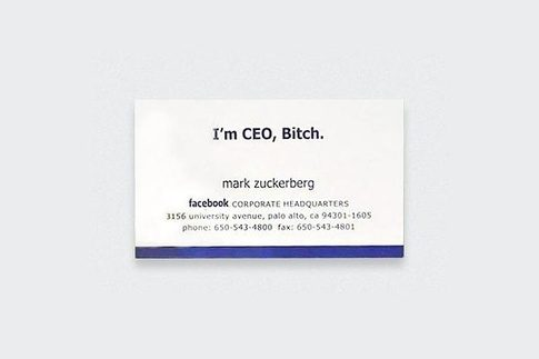 What do some top companies ceos business cards look like quora reheart Gallery