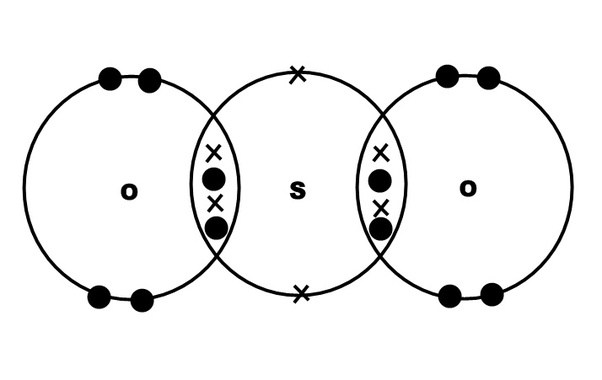Can A Sulfur Dioxide Be A Covalent Bond Quora