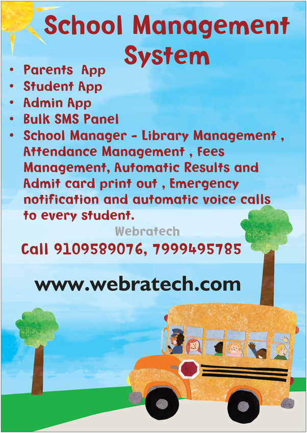 What's the best school management system built with php preferably