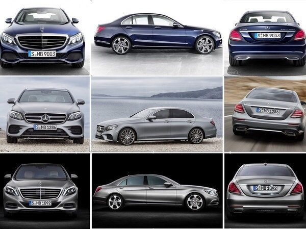 Types of mercedes