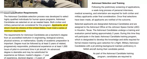 How To Get A Job In Nasa From India Quora