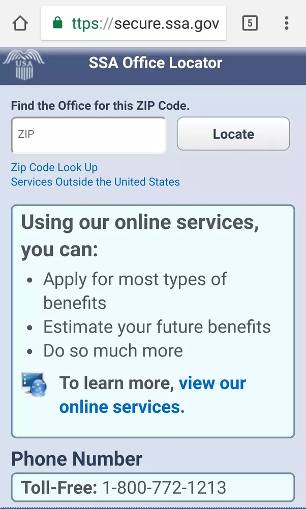 What Is The Social Security Phone Number For A Specific Area Such - 772 area code