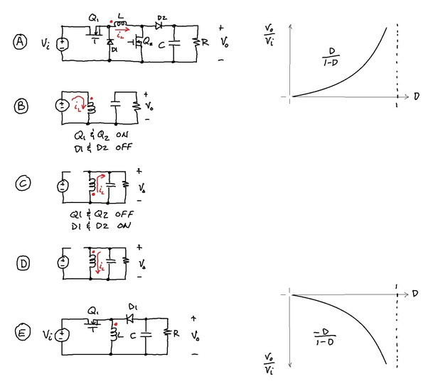 it is possible to make a non inverting buck boost converter with a rh quora com