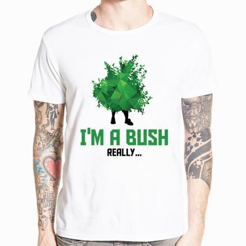 Just A Bush Fortnite Kids T Shirt Teepublic