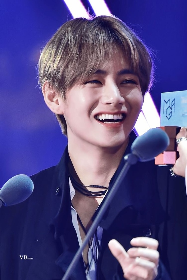 Why Does V Of Bts Have The Cutest Smile And Teeth Quora