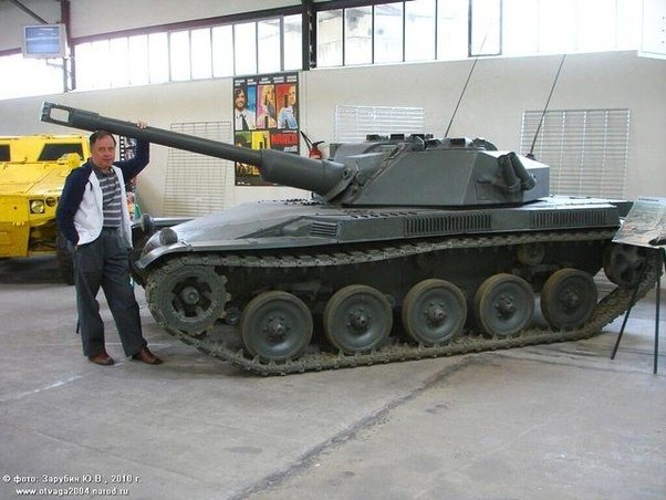 What's the smallest tank with the biggest gun? - Quora