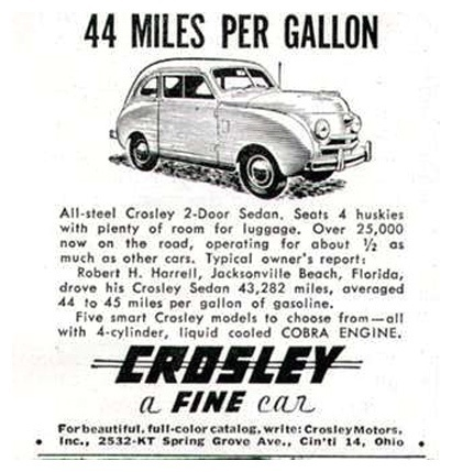 We Had Cars That Got 40 Mpg In 1940 S