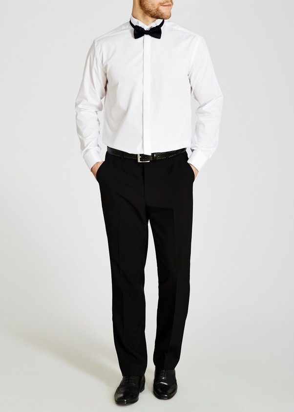 Can I Wear White Shoes With Black Pants