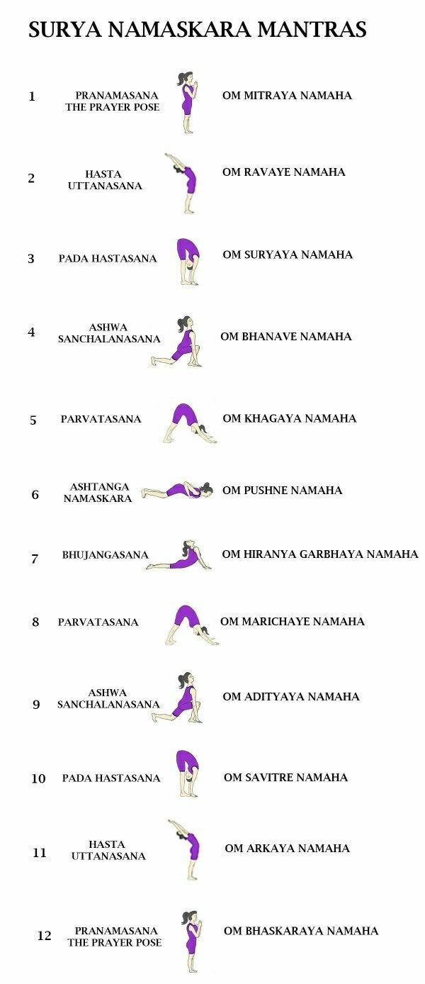How many asanas does Surya Namaskar consists of   Quora