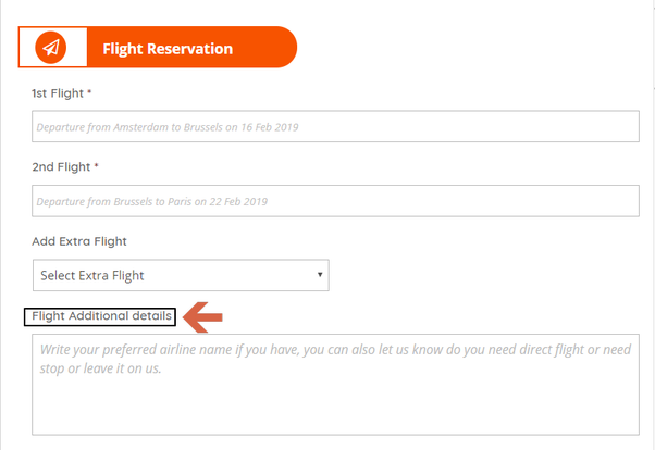 How to get a flight itinerary to show immigration officials
