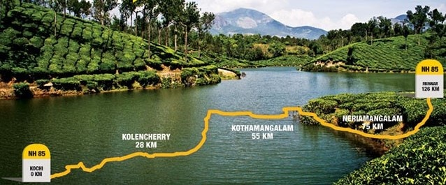 how is the bus route from kochi to munnar? - quora