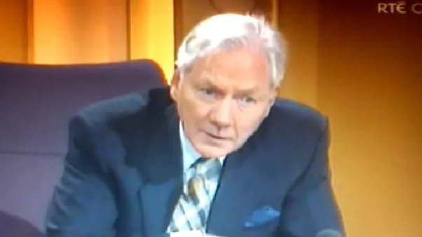Gay Byrne on the Late Late Show