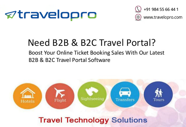 Which are the top B2B & B2C travel portal development companies? - Quora