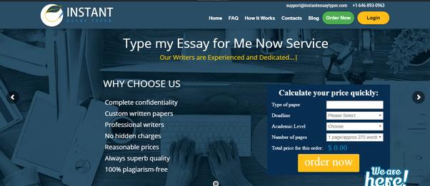 Best essay websites