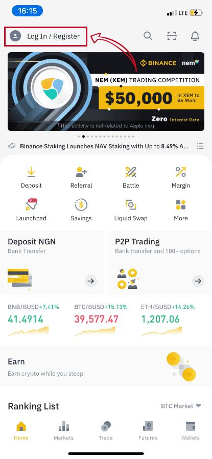 btc markets transfer la binance)