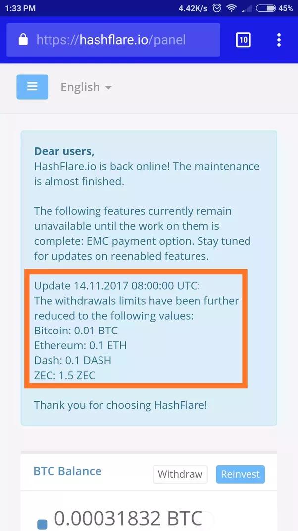 Hashflare Scam Or Legit Btcmine Cloud Mining