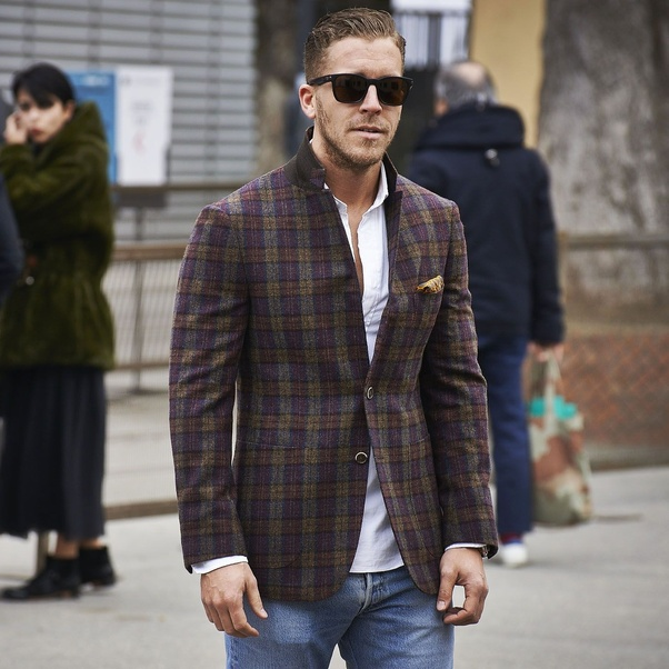 Bold intimidating approach – If you are ready to wear more adventurous then  choose for patterned blazers. You can make a bold and distinguished  statement ... ef1a4c701a9c