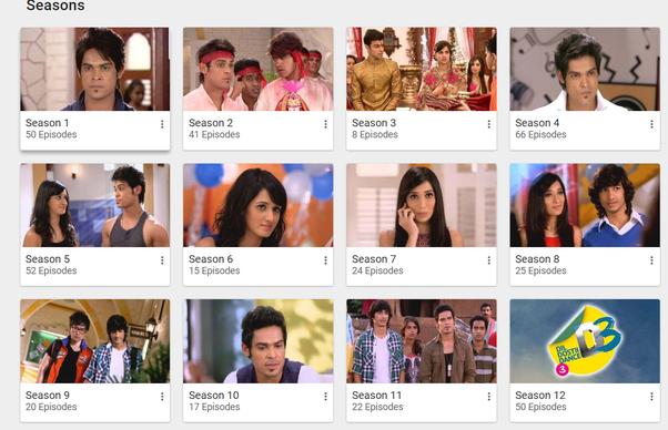 Where can I get to see all the episodes of the Dil Dosti